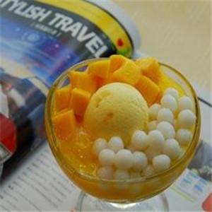 麦恬甜品冰淇淋奶球