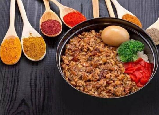 乡村基中式肉末饭