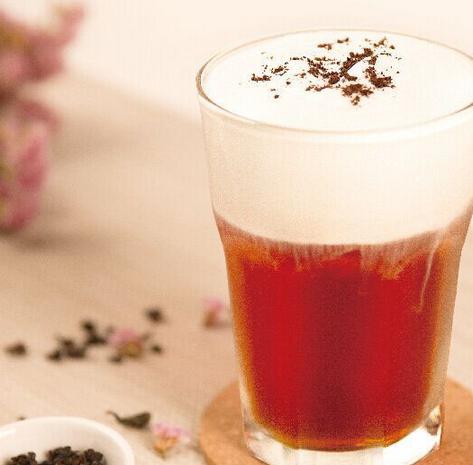 果然奶茶招牌