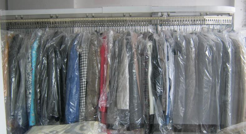圣洁洗衣店铺展示