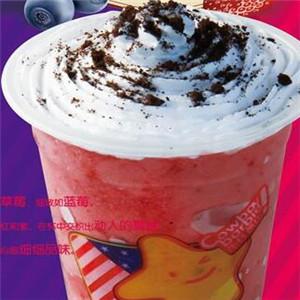 牛仔芭比奶茶店双莓雪顶