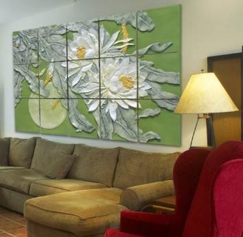 诺伯豪斯集成墙饰客厅装修