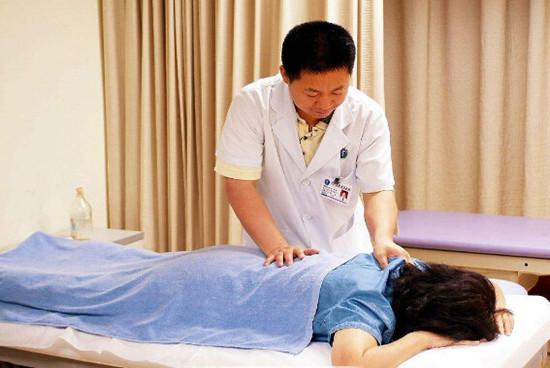 中医按摩减肥图片