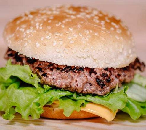 香达克汉堡肉质饱满