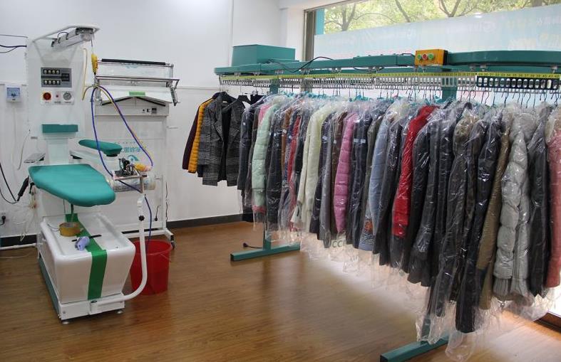 盛兰洗衣店铺展示