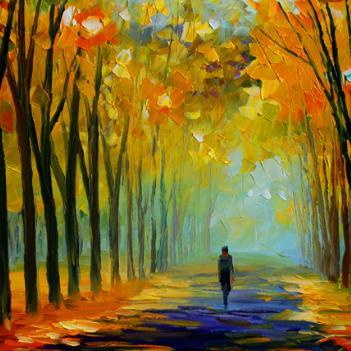 林木艺术培训油画