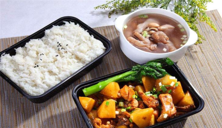 优家中式快餐土豆牛肉套餐