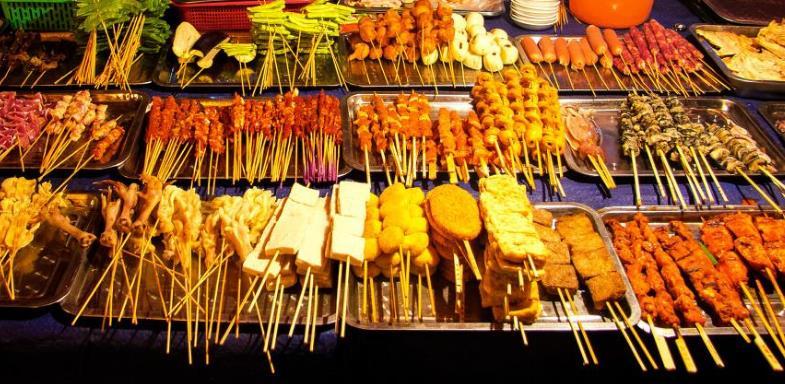 王大爷烧烤品种繁多