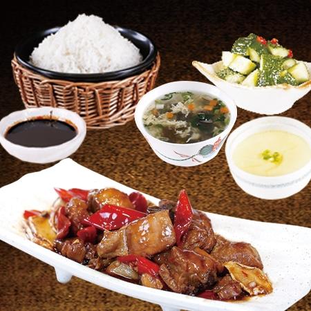 稻谷滿倉瓦鍋飯港式三杯雞