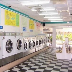 民友洗衣设备展示