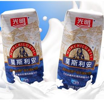 莫斯利安酸奶产品