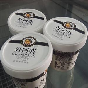好阿婆冰淇淋桶装冰淇淋