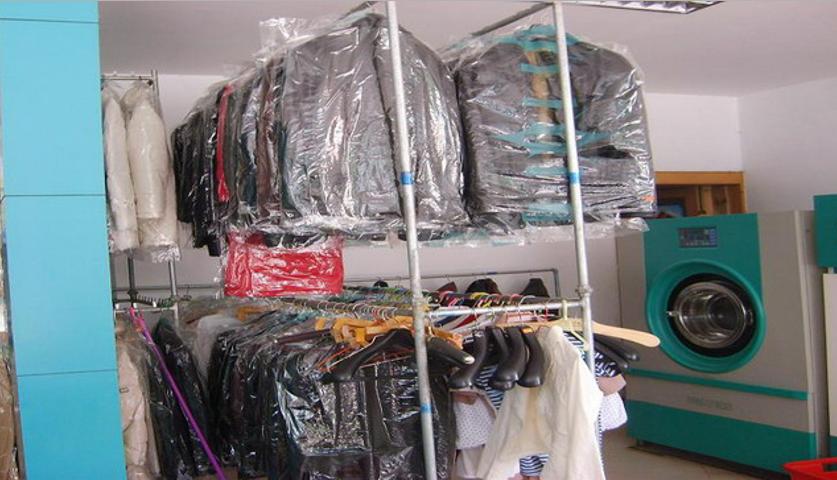 民友洗衣店铺展示