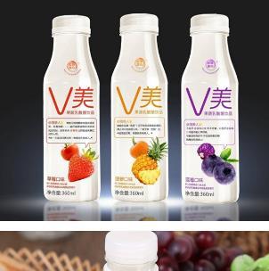 v美果蔬乳酸菌饮品各种口味