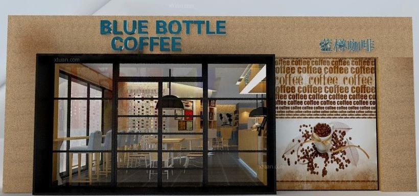 蓝樽咖啡店门店