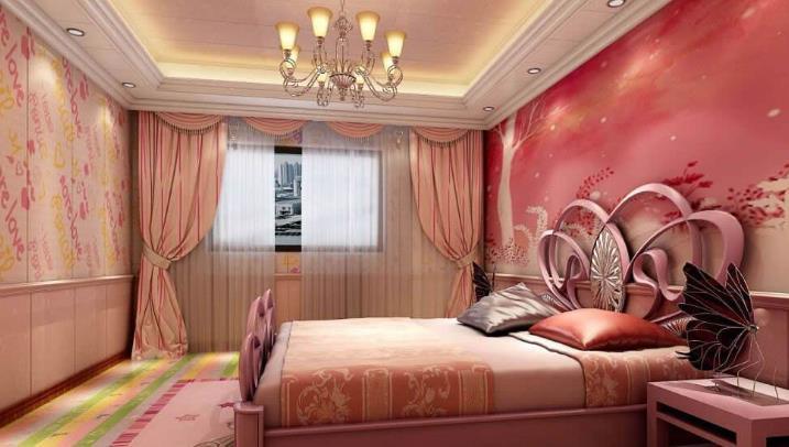 欧邦德环保集成墙饰卧室装修效果图