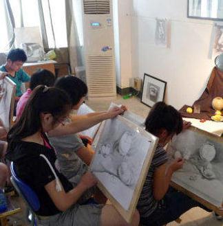 林木艺术培训素描