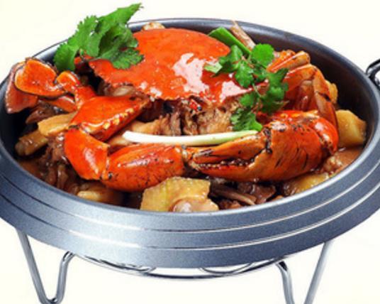 蟹蟹侬招牌肉蟹煲