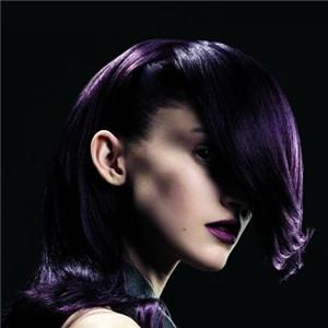 陈凤紫色头发