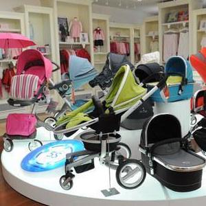 贝儿母婴用品商品区