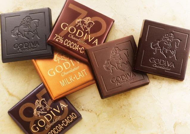 歌帝梵巧克力产品