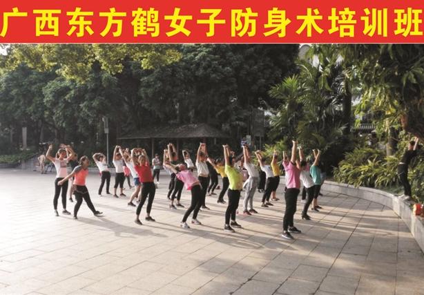 东方鹤武术健身女子防身术