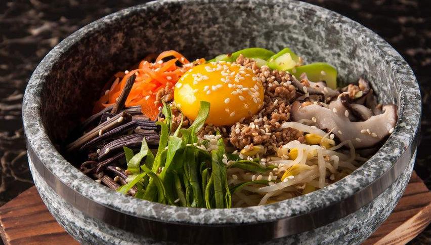 韩罗苑石锅拌饭美味