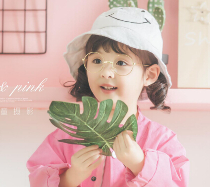 万福娃儿童摄影粉色