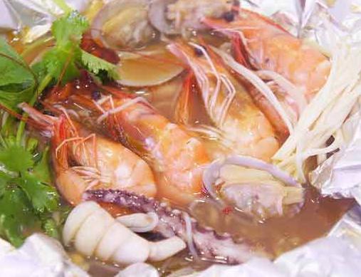 赋予香花甲海鲜美味
