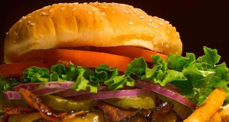 派克汉堡美味夹心