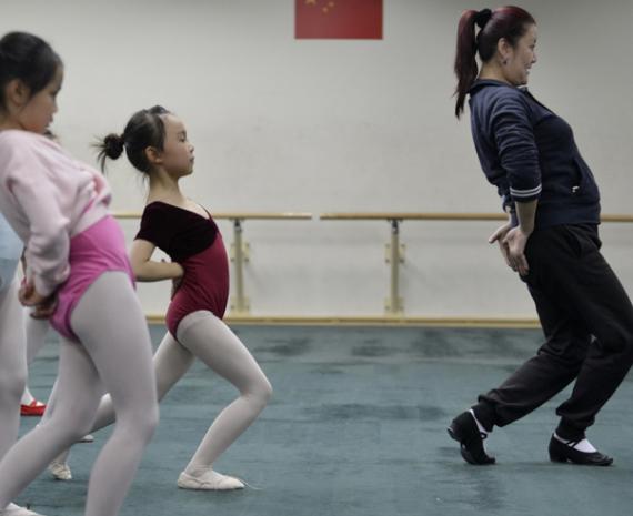 少儿舞蹈班教学