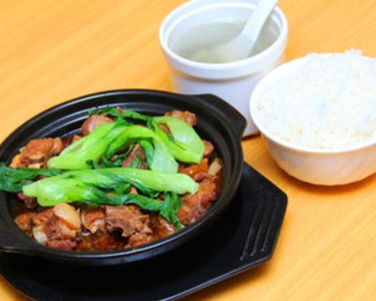 安镇黄焖鸡米饭套餐