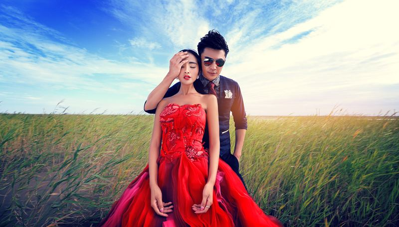 新新娘婚纱摄影