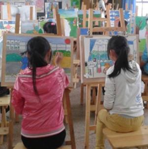少儿创作绘画班课程