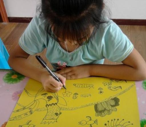 少儿创作绘画班加盟