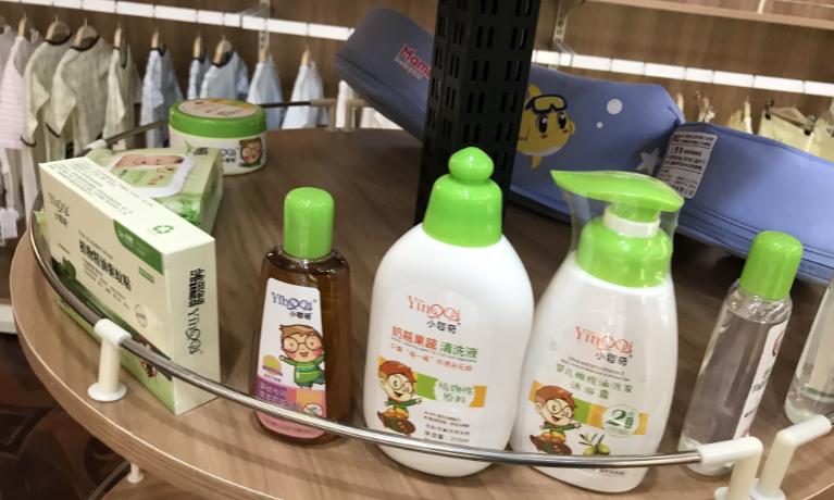 宠爱孕婴母婴店丰富产品