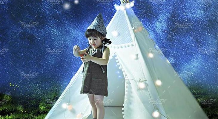 星月童话儿童摄影梦幻