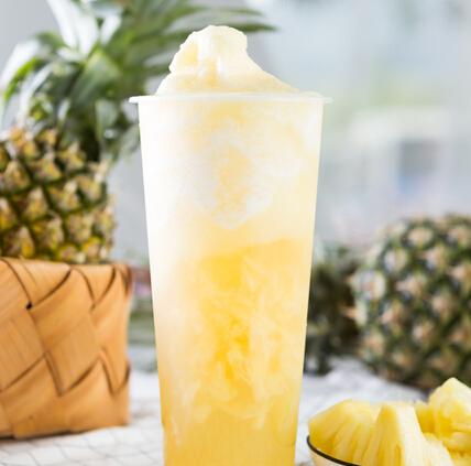 水果下山茶饮黄色款