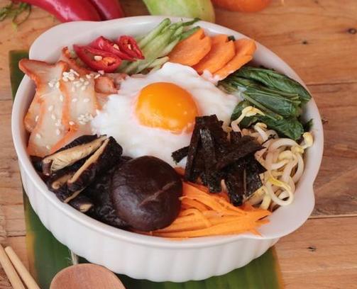 韩顺园石锅拌饭美味