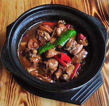 鳌江香辣黄焖鸡米饭