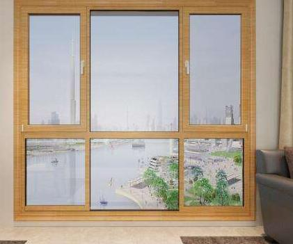 时代宏达门窗实木窗户