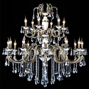 琉璃水晶吊灯