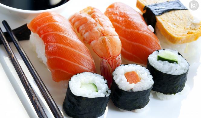 掂刺身寿司