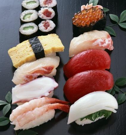 北欧港刺身寿司生食薄切牙片鱼