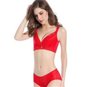 康加加内衣红色