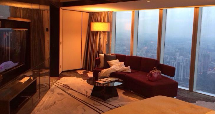 景安庄花园酒店vip客房