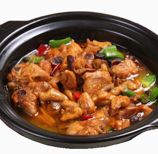 曹轩阁香辣黄焖鸡米饭