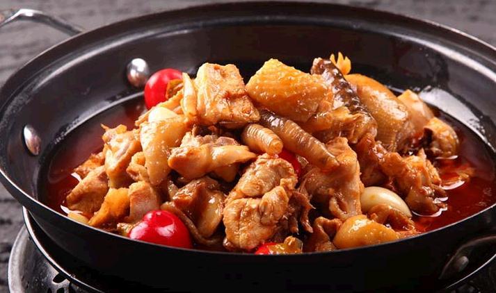 鳌江招牌黄焖鸡米饭