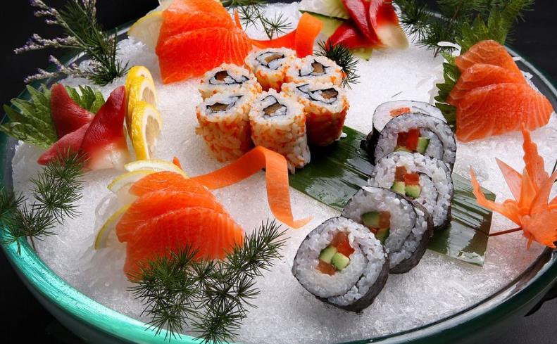 北欧港刺身寿司招牌刺身寿司
