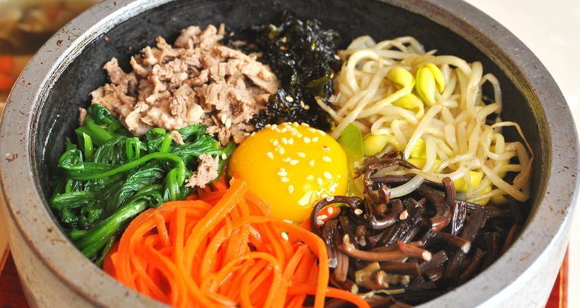 韩聚阁石锅拌饭美味